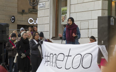 #MeToo in Sweden: Online activism, social protest and visual testimonies
