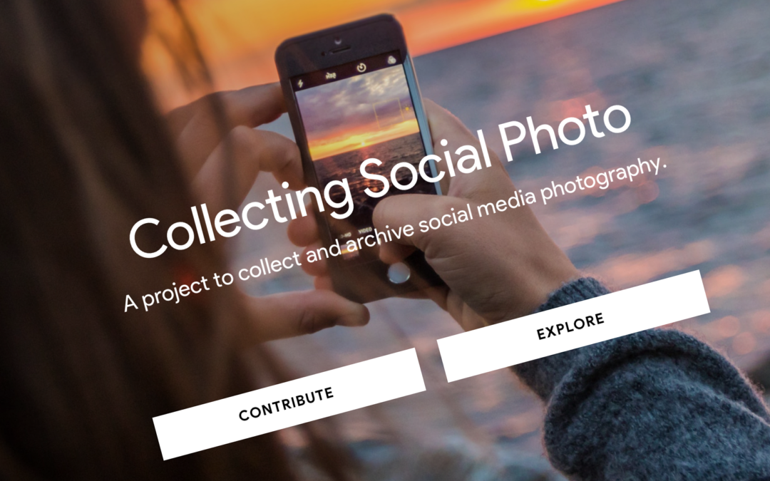 Some Reasons Why the Collecting Social Photo Project is Building a Prototype for Collecting Social Digital Photography