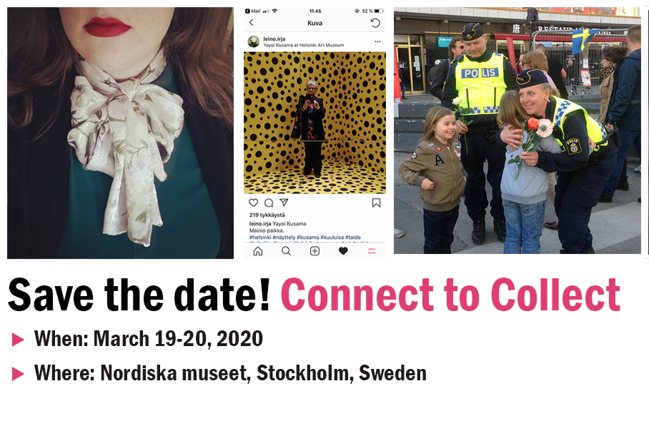 SAVE THE DATE: Connect to Collect : Social Digital Photography in Archives and Museums