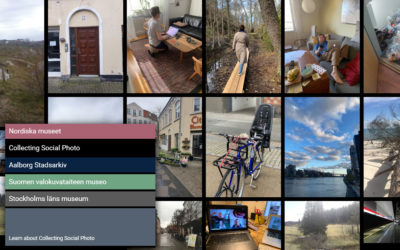 The Web App: A Tool for Collecting Social Digital Photography
